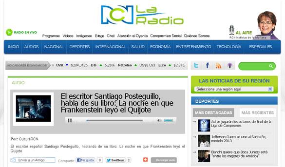 la-noche-en-que-frankenstein-leyo-el-quijote-rcn-radio