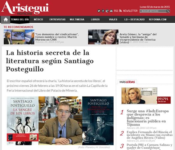 santiago-posteguillo-aristegui-noticias