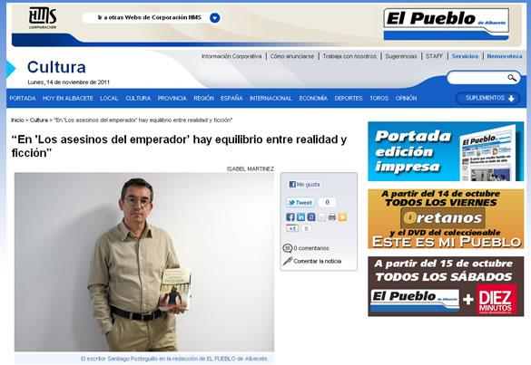 santiago_posteguillo_entrevista_el_pueblo_de_albacete