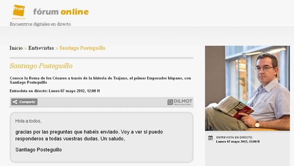 santiago_posteguillo_entrevista_fnac