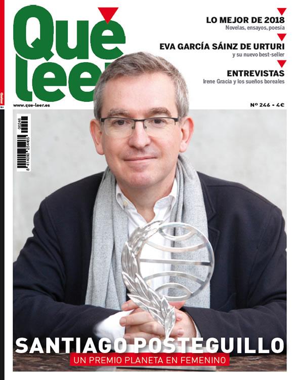Santiago Posteguillo - Premio Planeta en femenino - Que Leer - 585x750