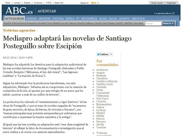 abc-mediapro-adaptara-novelas-santiago-posteguillo