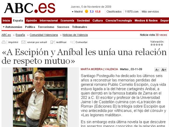 ABCes Noticias De Valencia 3 11 09 Sitio Web Oficial De