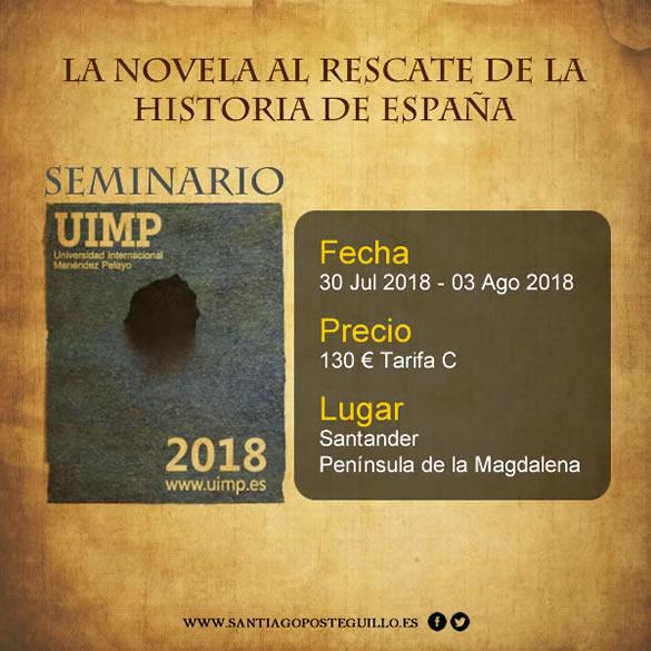 Curso Santander - La novela al rescate de España