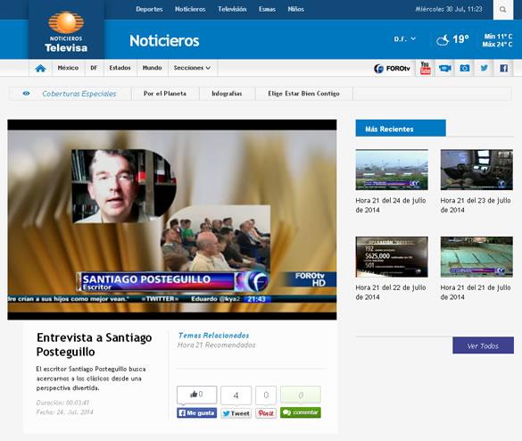 entrevista-televisa-santiago-posteguillo