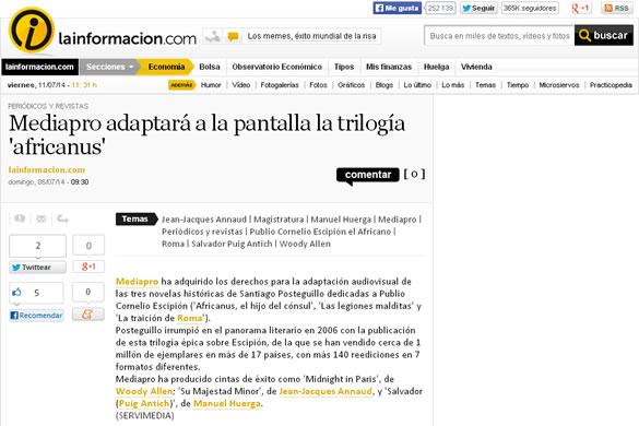 la-informacion-mediapro-adaptara-trilogia-africanus
