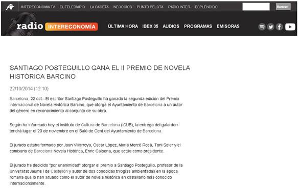 premio-novela-historica-barcino-santiago-posteguillo-intereco