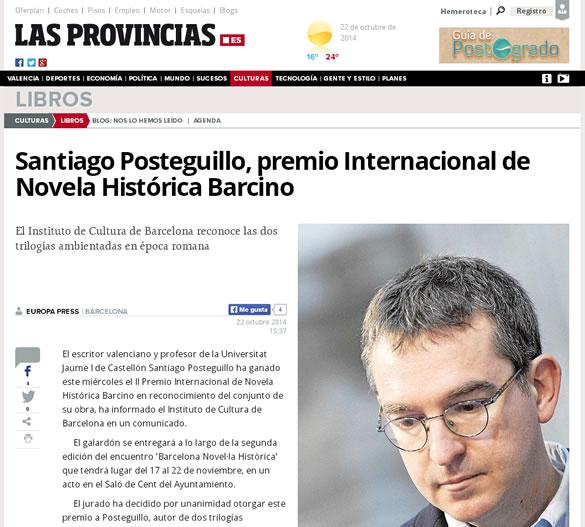 santiago-posteguillo-premio-novela-historica-barcino-las-provincias