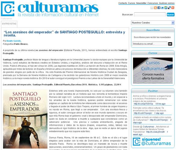 santiago_posteguillo_entrevista_culturamas