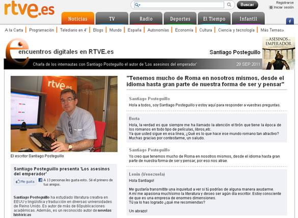 santiago_posteguillo_entrevista_encuentros_digitales_rtve