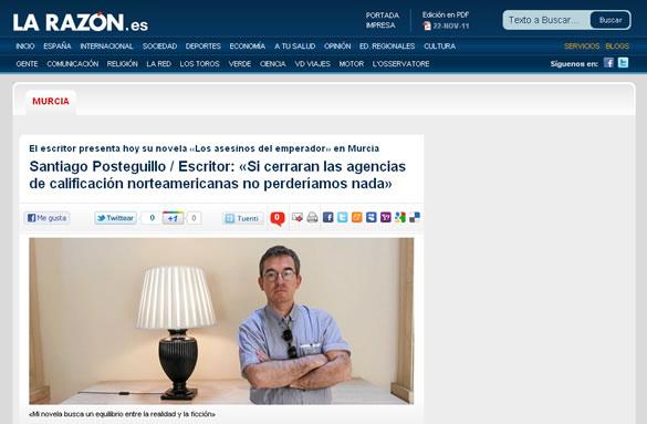 santiago_posteguillo_entrevista_la_razon_murcia