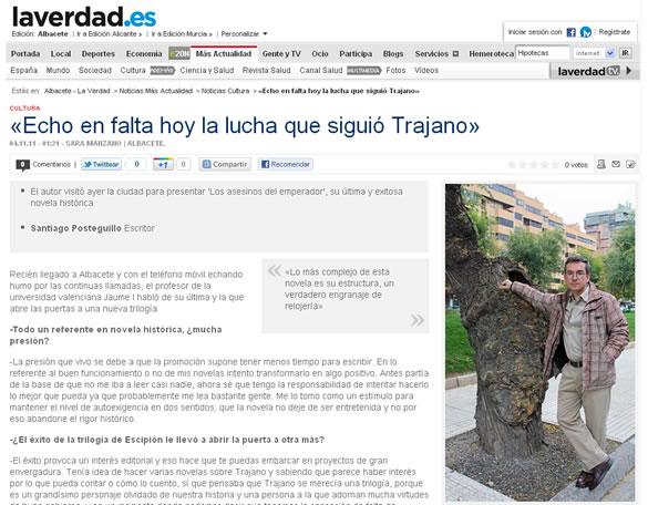 santiago_posteguillo_entrevista_la_verdad_albacete