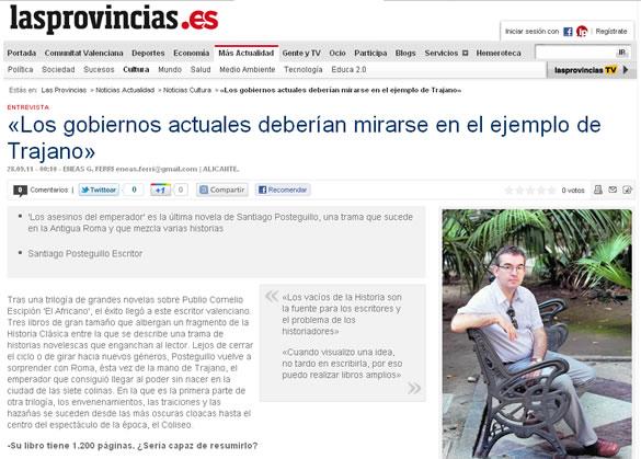 santiago_posteguillo_entrevista_las_provincias