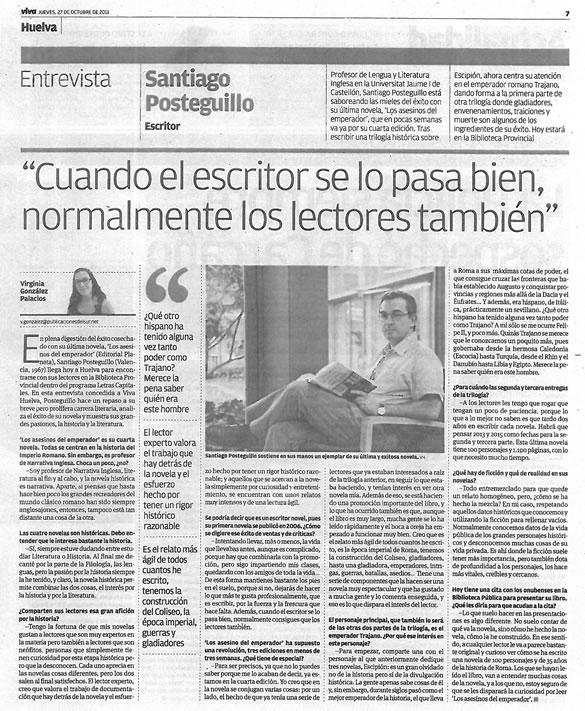 santiago_posteguillo_entrevista_viva_huelva